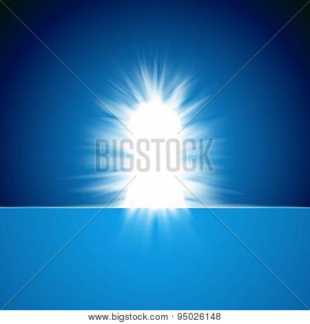 Shiny Secret Keyhole Concept Abstract Background