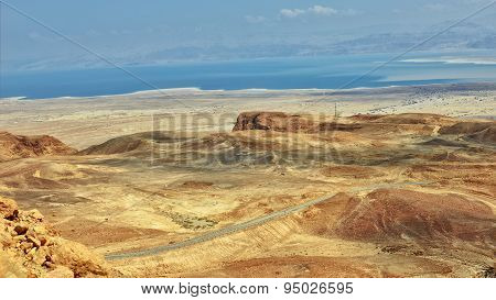 Desert And Dead Sea