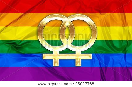 Lesbian symbols
