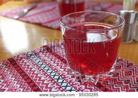 A Glass Of Fruit Drink