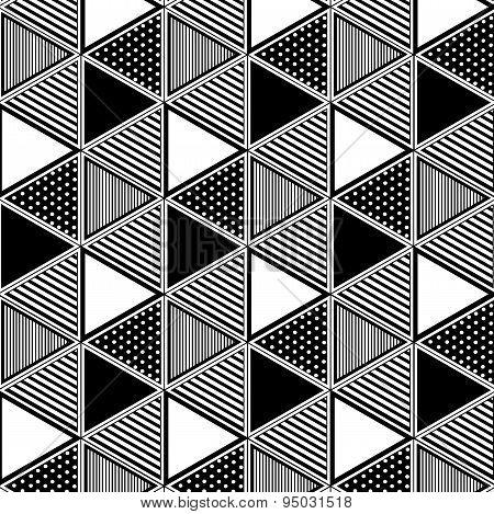Triangle Pattern Seamless Mixed