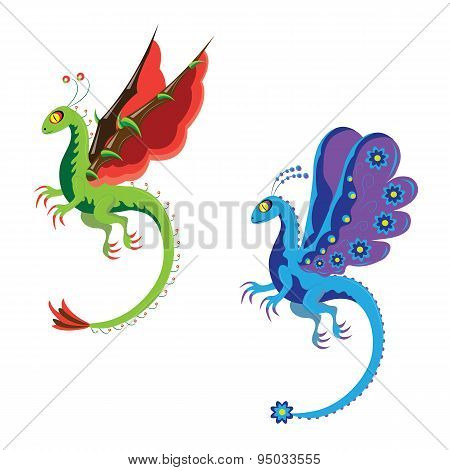Fantastic dragons.