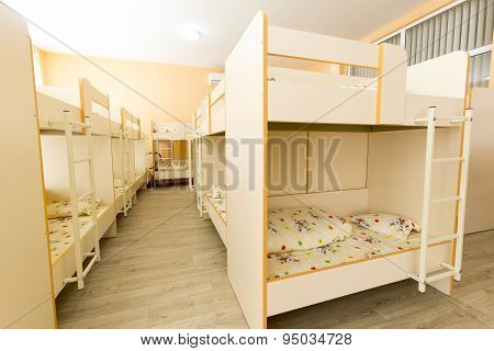 New Kindergarten Bedroom With Small Beds
