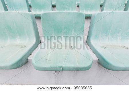 Old Green Stadium Seats