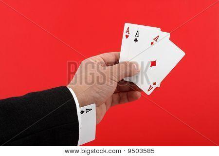 Poker Player Cheating