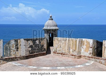Fort St. Christobal Watchtower (Old San Juan, Puerto Rico)