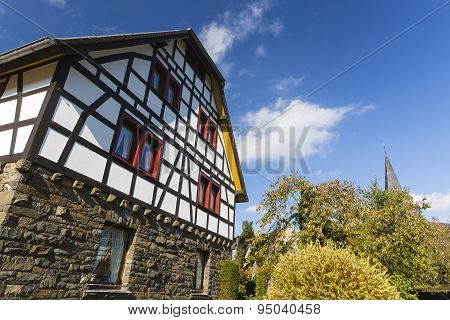 Typical Eifel Village, Germany