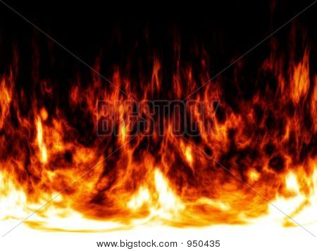 Fire And Flames Background Abstract