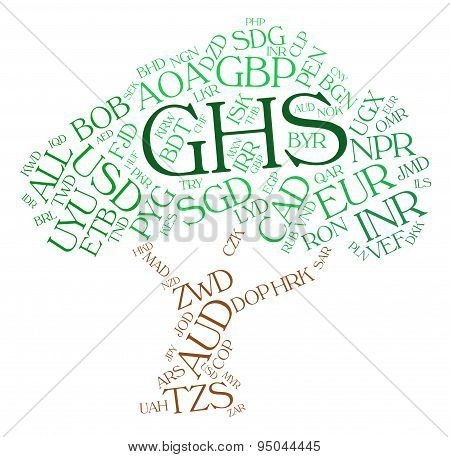 Ghs Currency Means Exchange Rate And Broker