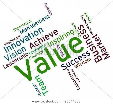 Value Words Means Quality Assurance And Approve