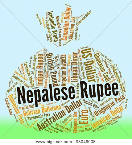 Nepalese Rupee Means Foreign Currency And Exchange