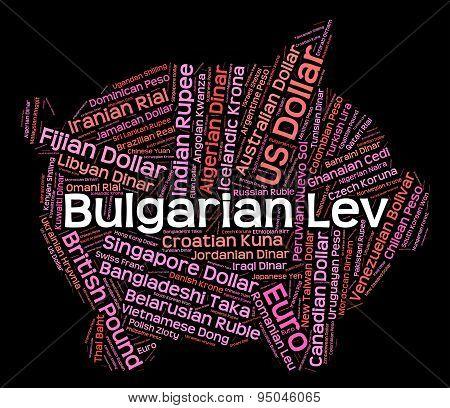 Bulgarian Lev Shows Forex Trading And Banknotes