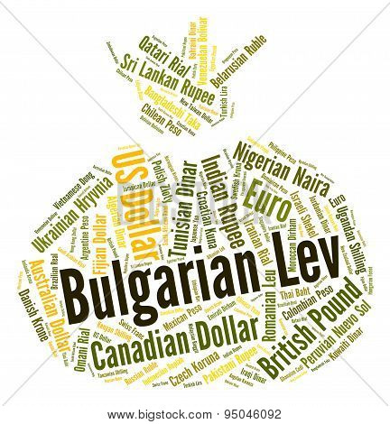 Bulgarian Lev Indicates Foreign Exchange And Coin