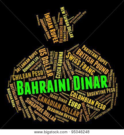 Bahraini Dinar Shows Foreign Exchange And Coin