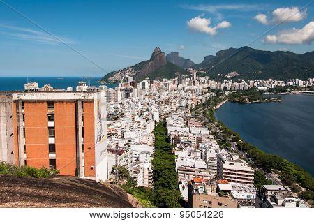 Ipanema, Leblon, and Mountains of Rio de Janeiro