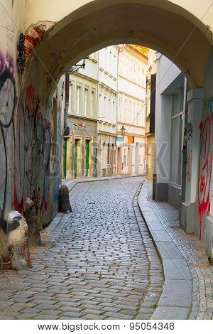 street in old town, Prague