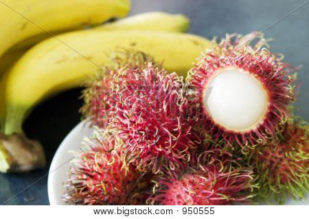 Rambutan & Bananas