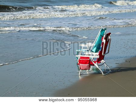 Beach Chairs Waiting for You
