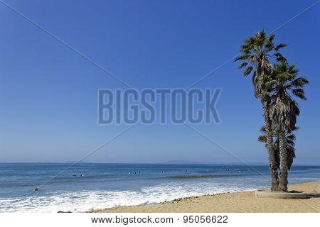 Central Beach in City of San Buenaventura, CA