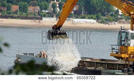 River Digging