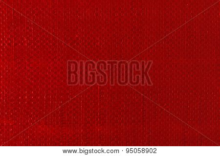 Red Woven Plastic Cloth Texture