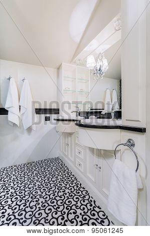 Bathroom In Baroque House
