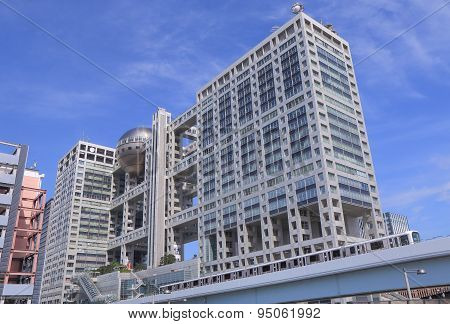 Odaiba modern architecture Tokyo Japan
