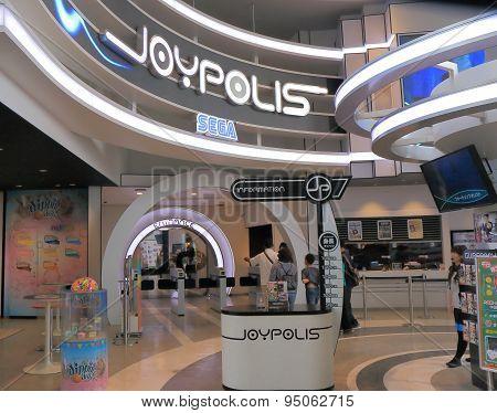 Tokyo Joypolis amusement park Japan