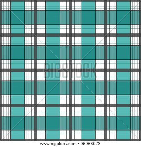 Seamless Retro Textile Tartan Checkered Plaid Pattern Background