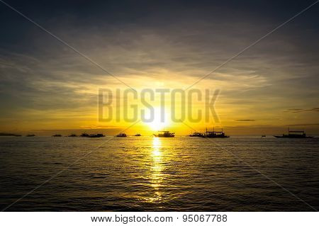 Dawn On Panglao Island, Philippines