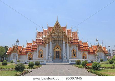 Buddhist temple Bangkok Thailand