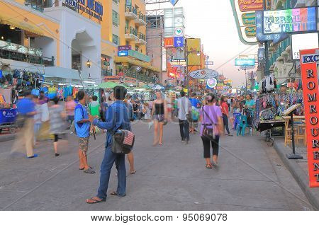 Khaosan Road Bangkok Tourism