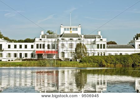 Palace Soestdijk, the former residence of Dutch royal family Queen Juliana, Bernard and their childr