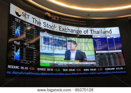 Stock Exchange of Thailand SET