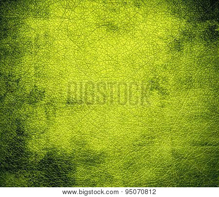 Grunge background of bitter lemon leather texture