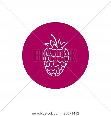 Icon Raspberries in the Contours