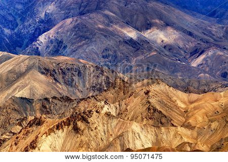 Rocks And Stones, Mountains, Ladakh Landscape, Leh, Jammu Kashmir, India