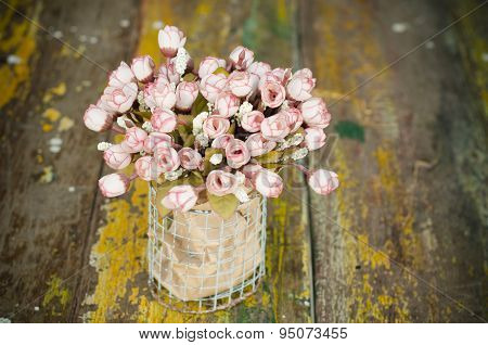 Colorful Decoration Artificial Flower (vintage)