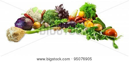 Vegetables, Herbs And Nuts