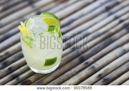 Caipirinha Classic Brazilian Rum Cocktail