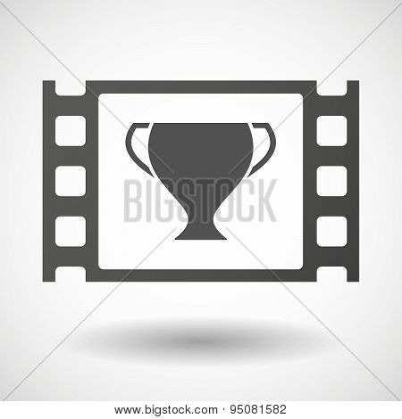 35Mm Film Frame With A Cup