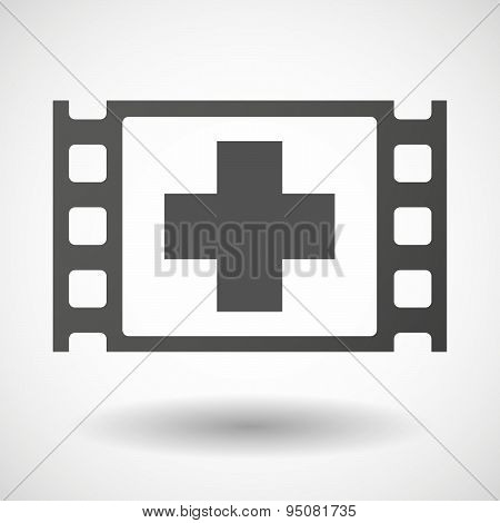 35Mm Film Frame With A Pharmacy Sign