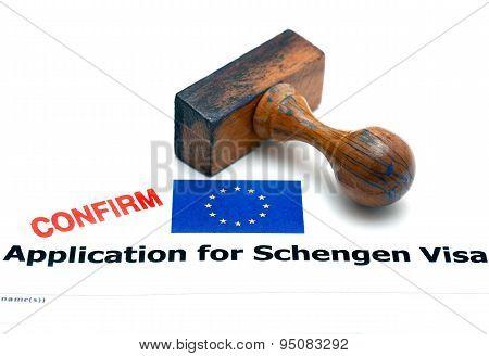 Application For Schengen Visa