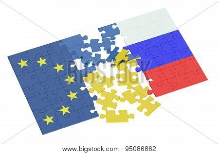 Puzzles Of Ukraine, Russia And Eu