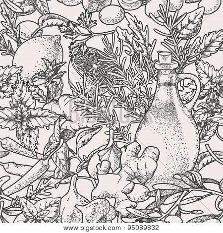 Seamless herbs