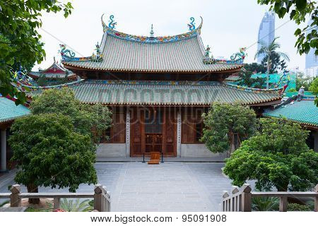 South Putuo or Nanputuo is a famous Buddhist temple. China