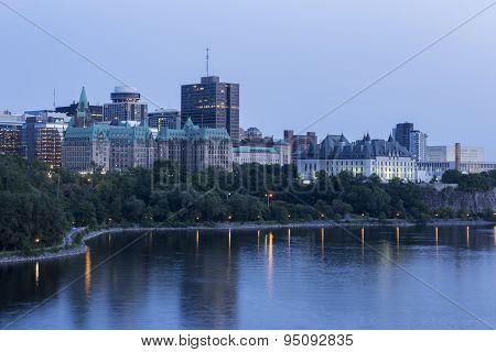 Ottawa's Downtown landscape