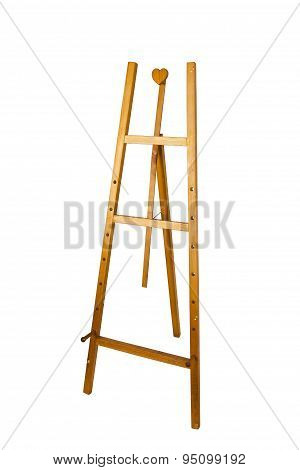 Easel Photo Isolated