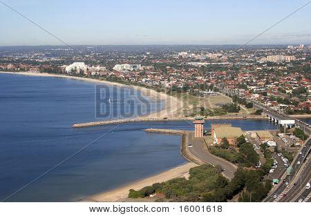 Aerial View Of Sydney Australia