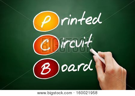 Hand Drawn Pcb Printed Circuit Board